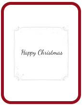 Christmas CardTemplate (English)
